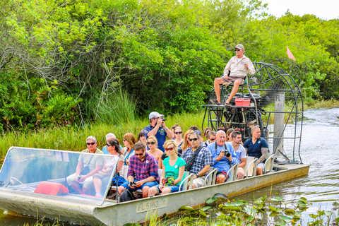 Hydroglisseur aux Everglades