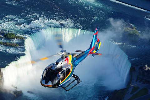 hélicoptère chutes niagara