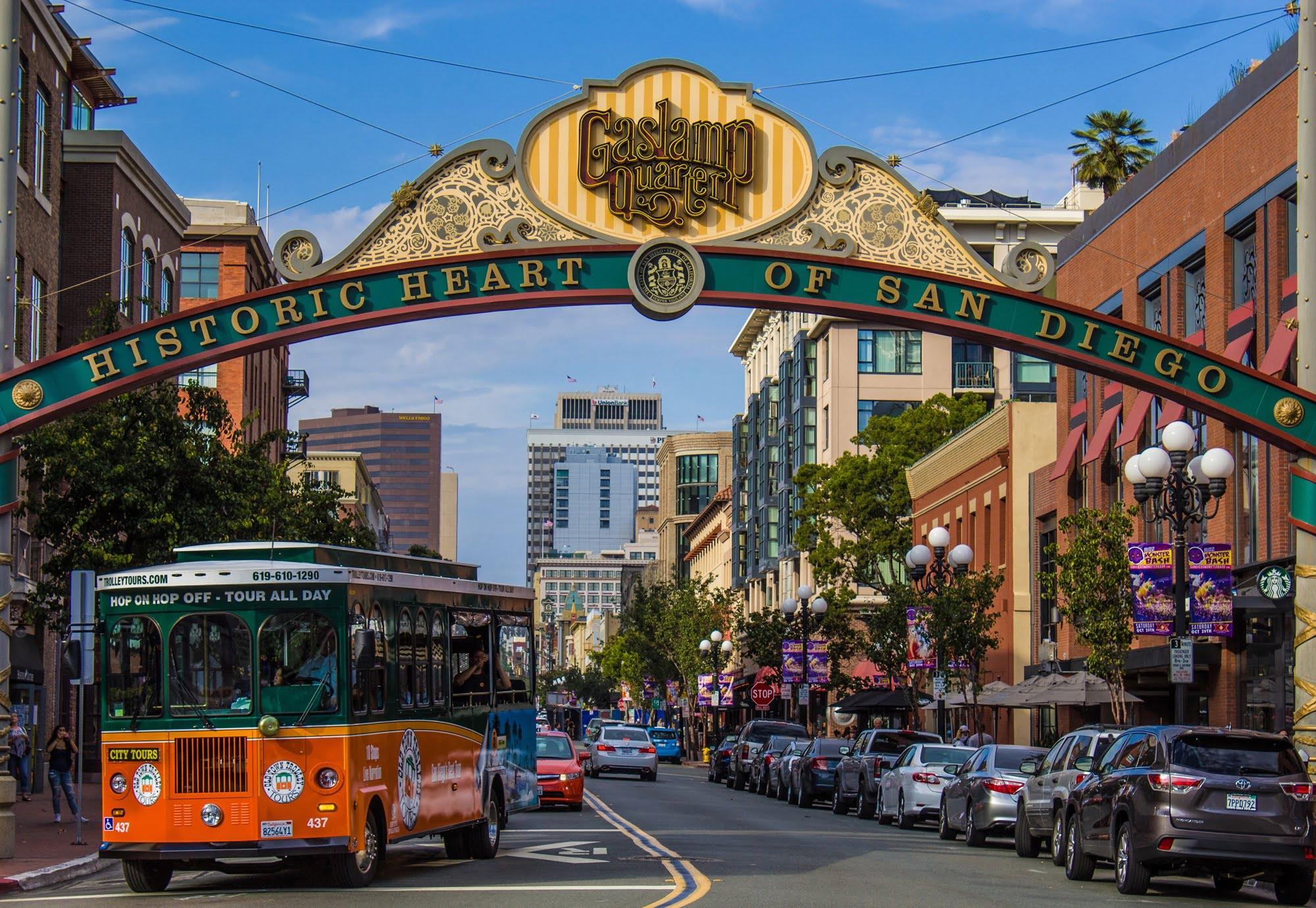 San Diego Centre Historique