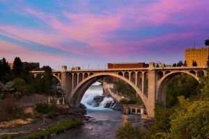 Pont rue Maple Spokane